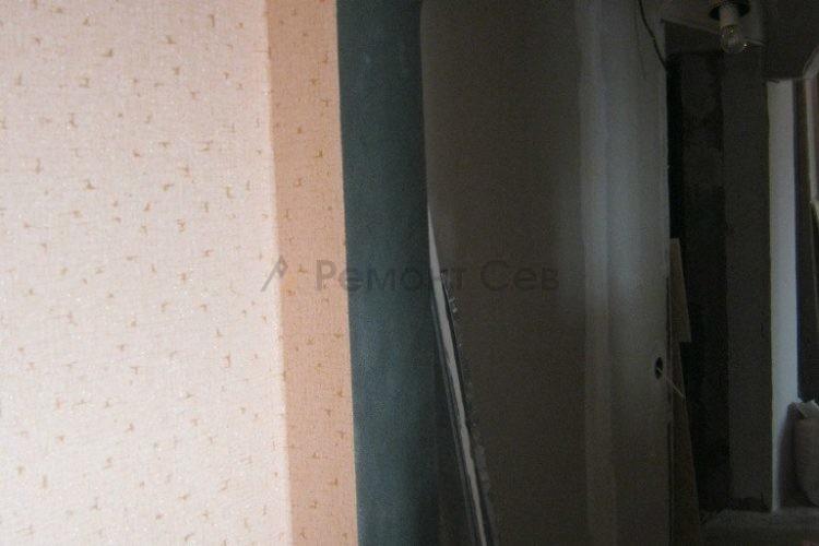 Комплексный ремонт дверного проема в квартире