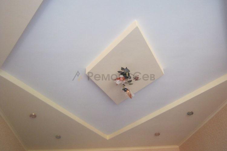 Комплексный ремонт потолка в квартире