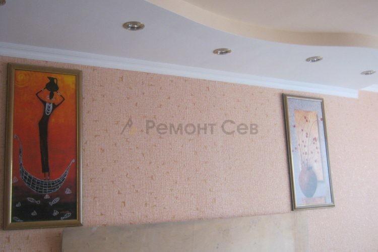Комплексный ремонт стены в квартире
