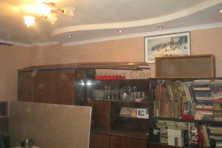 Комплексный ремонт зала в квартире