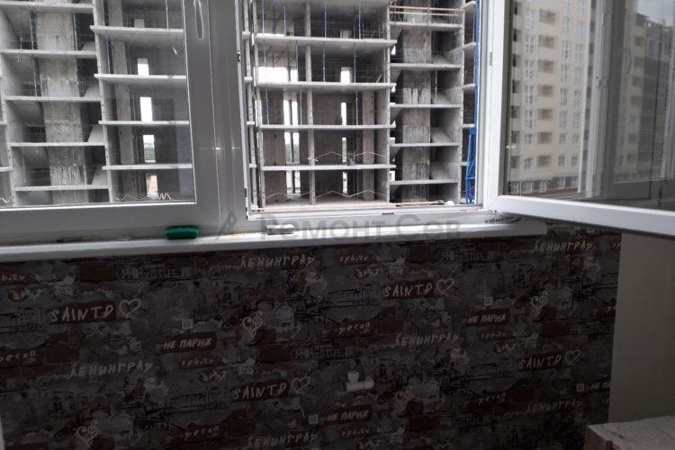Оригинальный ремонт балкона в однокомнатной квартиры под ключ