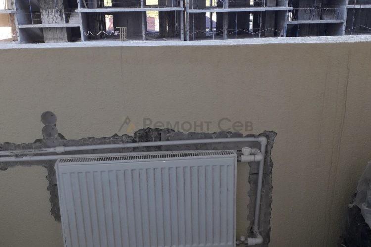 Ремонт балкона в однокомнатной квартиры под ключ