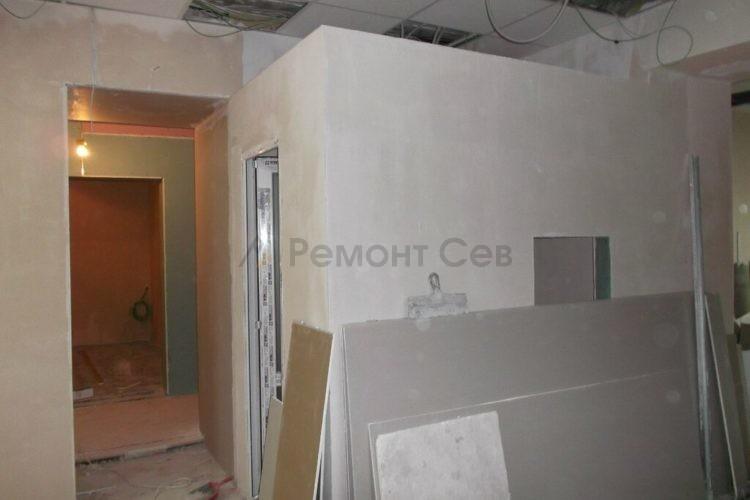 Ремонт помещений и коридора в салоне красоты