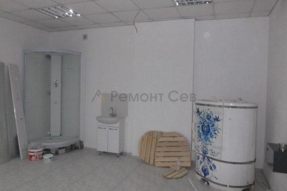 Ремонт зала в салоне красоты в Севастополе 2019