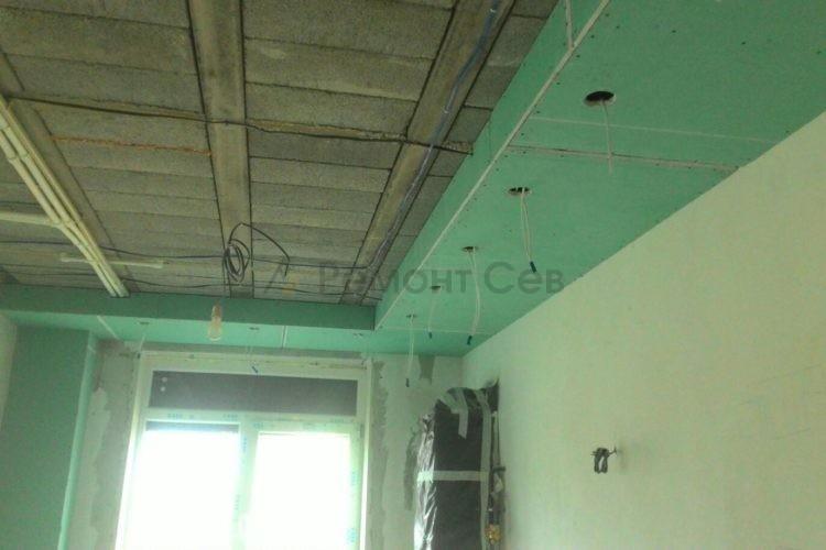 Комплексный ремонт потолков частного дома