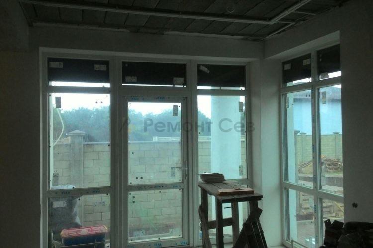 Комплексный ремонт веранды частного дома