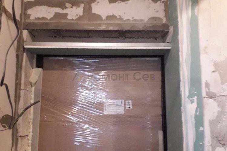Ремонт дверного проема в квартире