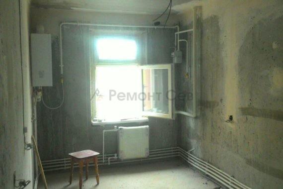 Ремонт комнаты с нуля в квартире