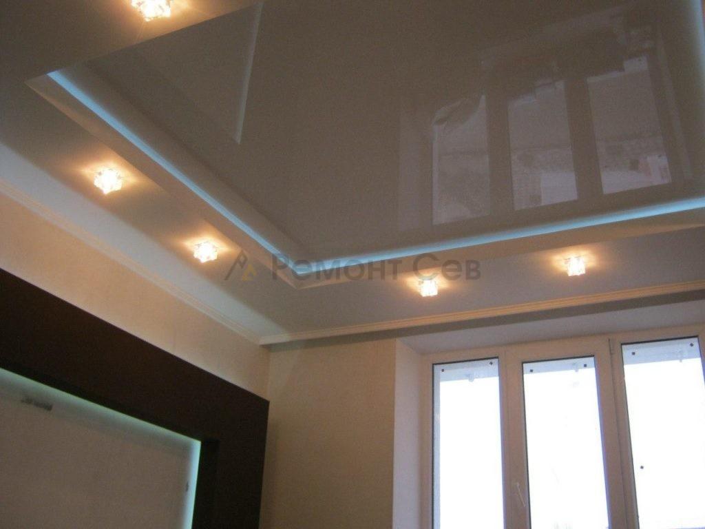 Ремонт натяжного потолка в квартире