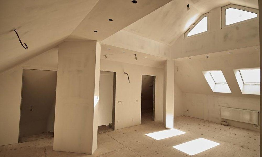 Ремонт стен и перегородок в комнате